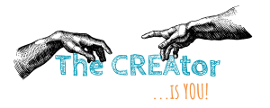 the CREAtor is you - 2 Farben