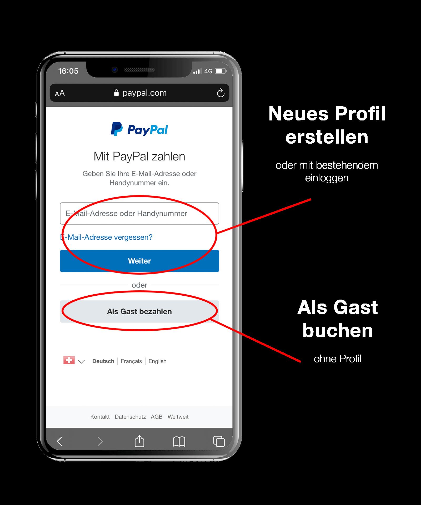 PayPal Buchung