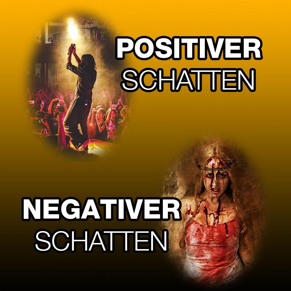 Schattenarbeit was ist das - Positiver und Negativer Schatten